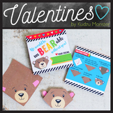 Origami Bear Valentine