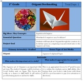Origami Book Lesson with PPT