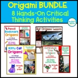 BUNDLE Origami Critical Thinking Activity Hands On Follow