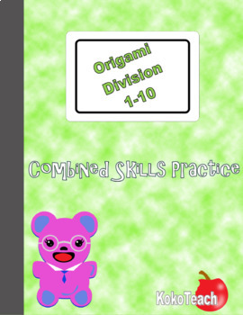 Origami Division- Combined Skills Practice 1-10
