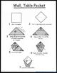 Origami Fold and Tell Freebie