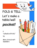 Origami Fold and Tell Freebie