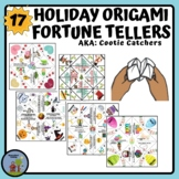 Origami Fortune Tellers - Cootie Catchers Mega Pack Holida