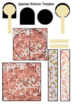 Origami Japanese Kimono Craft - 7-11 year olds