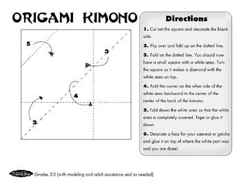 Origami Kimono!