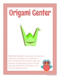 Origami Library Makerspace Center