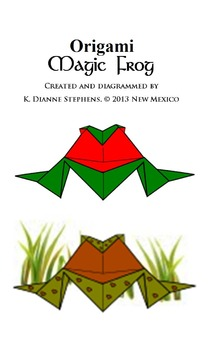Origami Magic Frog