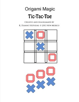 Origami Magic Tic-Tac-Toe