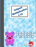 Origami Multiplication Freebie