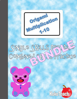 Origami Multiplication 1-10 Bundle