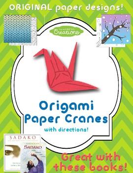 Origami Paper Cranes!