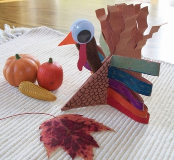 Origami Sitting Turkey