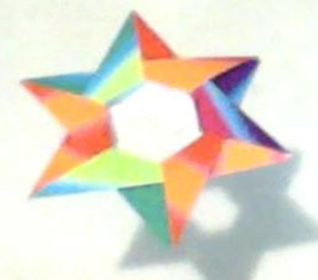 Origami Star 1