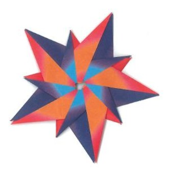 Origami Star 5 (Paper Craft)