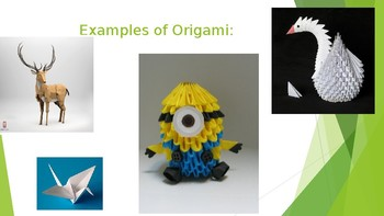 Origami Sun Catchers