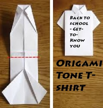 Origami Tone T-shirt