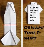 Origami Tone T-shirt