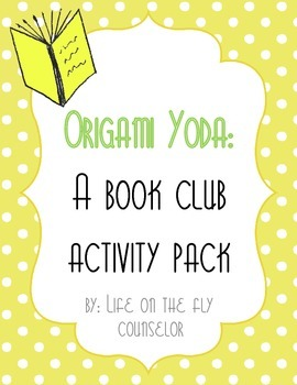 Origami Yoda Book Club Activity Pack