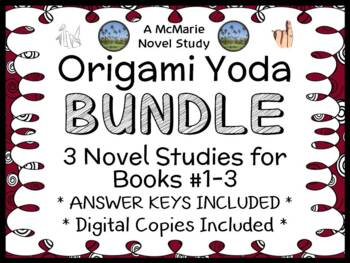 Origami Yoda Bundle (Tom Angelberger) 3 Novel Studies : Yoda, Darth, Wookiee
