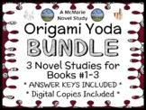 Origami Yoda Bundle (Tom Angleberger) 3 Novel Studies : Yoda, Darth, Wookiee