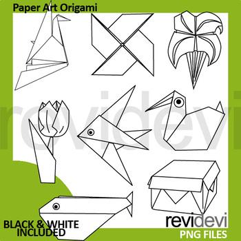 Origami clipart