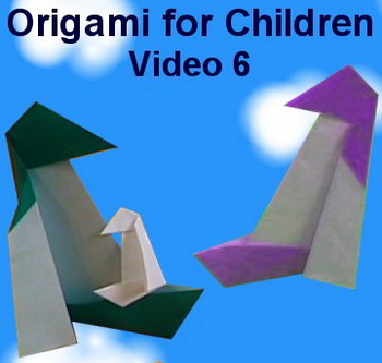 Origami for Children Video 6: How to Make an Origami Penguin