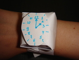 Origami watch -- Practical