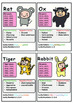 Origin of Chinese New year & Fun Info on 12 Chinese Zodiac animals