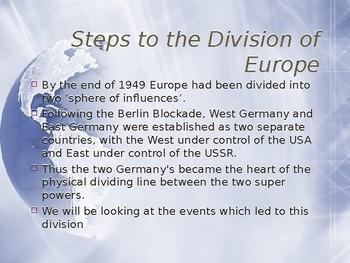 Origin of Cold War