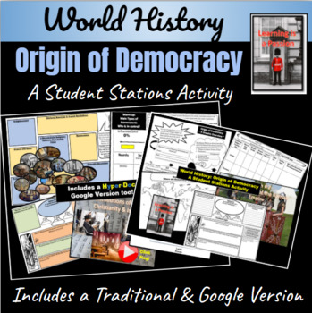 Origin of Democracy: How did democracy spread? ~ Student Activity ~