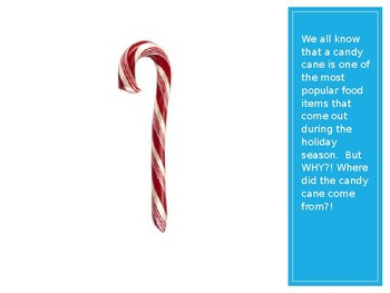 Origin of a Candy Cane Power Point