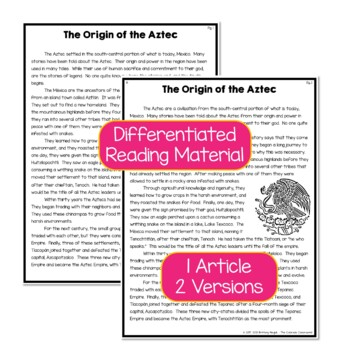Aztec Origin Story