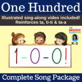 "Original 100th Day of School Song | ""One Hundred"" 