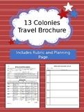 Original 13 Colonies Travel Brochure Project