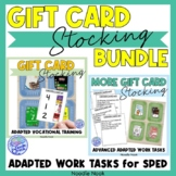 Original AND Updated Gift Card Stocking Activity for Vocational Training