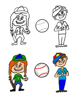 Original Baseball Clip Art