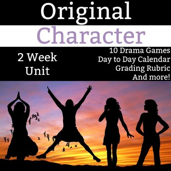 Original Character Unit - 2 Weeks of Activities, Worksheet