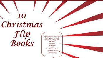 Christmas Information Booklets (Flip Books)