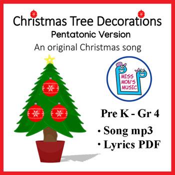 "Original Christmas Song: ""Christmas Tree Decorations"""