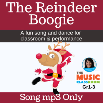 """Original Christmas Song   """"The Reindeer Boogie""""   Song mp3"""