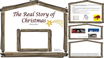 Christmas Story to Illustrate - (Original)
