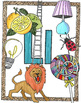 Clip Art for Educators & TpT sellers: 576 b/w and color images by alphabet
