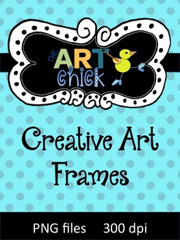 Original Creative Art Frames - all hand drawn! Great for Sellers!!
