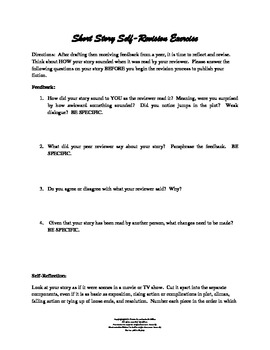Original Fiction Peer Critique and Self-Revision Exercise