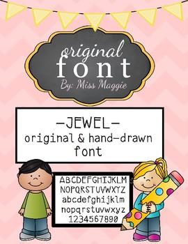 Original Font - JEWEL