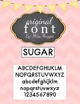 Original Font - SUGAR