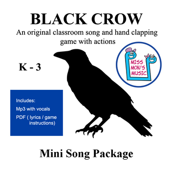 "Original Hand Clapping Game and song  - ""Black Crow"" Mini Package"