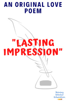 Original Love poem: Lasting Impression