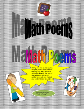 Original Math Poems to Promote Literacy and Problem Solving Skills