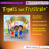 """Original Multiplication Songs - """"Eights that Frustrate"""" for ESE + Life Skills"""